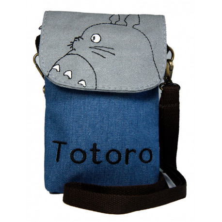 tiendas populares última colección zapatos casuales Bandolera vaquera Totoro solo 14,90€ – LaFrikileria.com