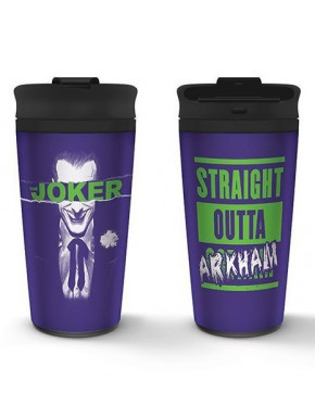 Vaso de Viaje The Joker Arkham DC Comics