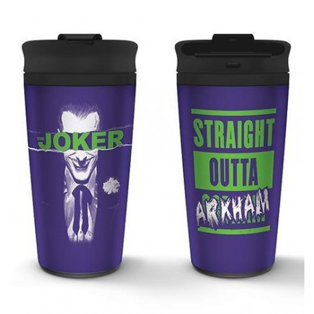 Vaso Metálico The Joker Arkham DC Comics