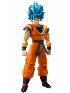Figura Goku Super Saiyan God Dragon Ball Super Tamashii Nations 14 cm