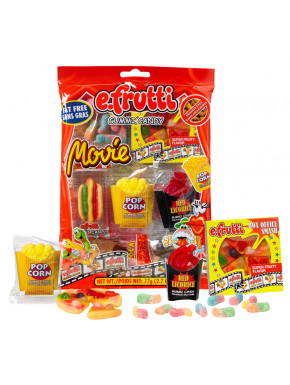 E-Frutti Movie Candy Gominolas Cine Americano