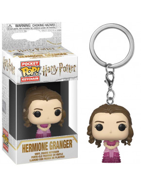 Llavero mini Funko Pop! Hermione Granger Baile