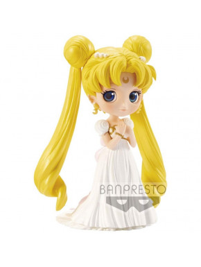 Figura Princesa Serenity Sailor Moon Q Posket Banpresto 14 cm