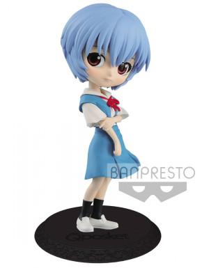 Figura Rei Ayanami Evangelion Q Posket Banpresto 14 cm