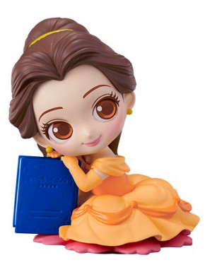 Figura Bella con libro Disney Banpresto Q Posket