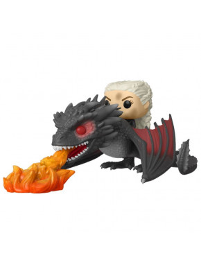 Funko Pop! Daenerys con Drogon en Llamas Juego de Tronos Edición Especial