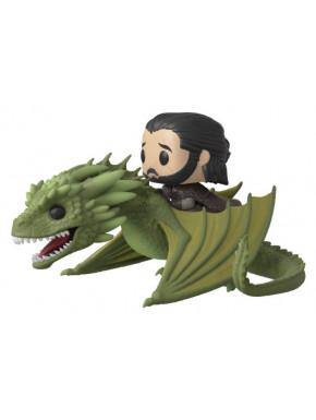 Funko Pop! Jon Snow con Rhaegal Juego de Tronos