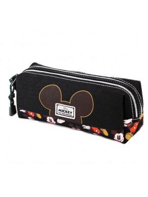 Estuche Portatodo Cuadrado Mickey Disney