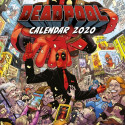 Calendario Pared 2020 Deadpool Marvel