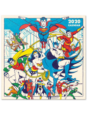Calendario Pared 2020 DC Comics Originals