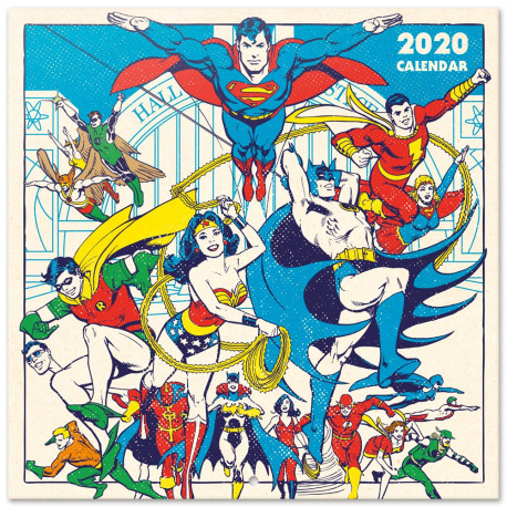 Calendario Pared 2020 DC Originals