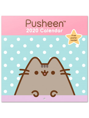 Calendario pared 2020 Pusheen Rose Collection