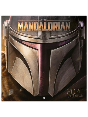 Calendario pared 2020 Star Wars The Mandalorian
