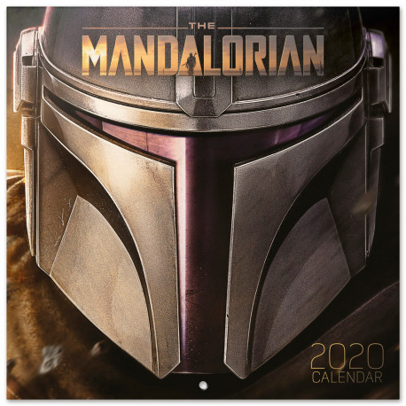 Calendario pared 2020 Star Wars The Mandalorian