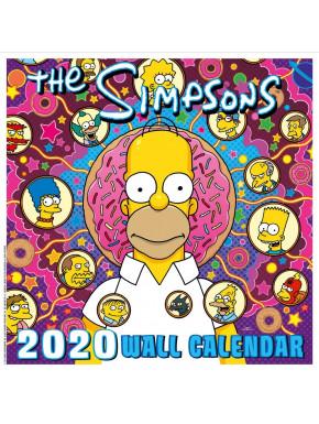Calendario pared 2020 Los Simpsons