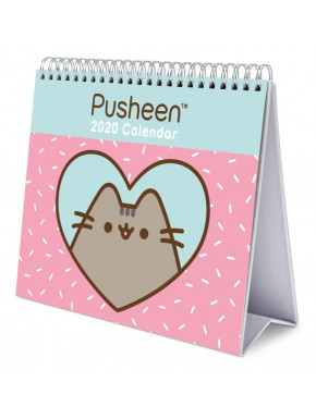 Calendario de Mesa 2020 Pusheen Rose Collection