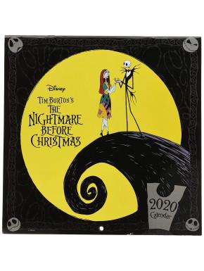 Calendario pared 2020 Pesadilla Antes de Navidad Disney