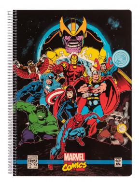 Cuaderno espiral A4  Marvel Comics Avengers