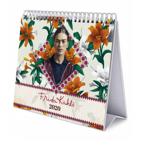 Calendario de Mesa 2019 Frida Kahlo