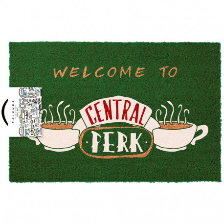 Felpudo Welcome to Central Perk Friends