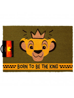 Felpudo El Rey León Disney Born To Be King