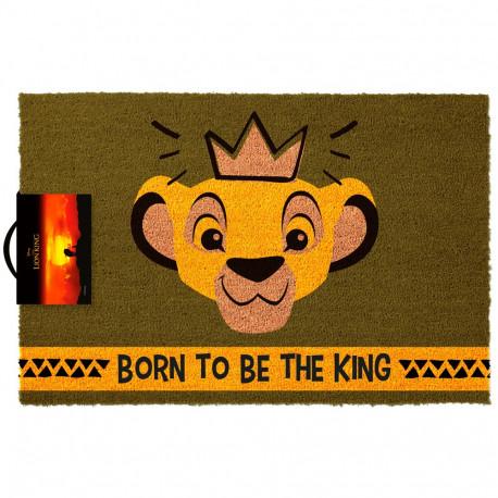 Felpudo El Rey León Disney Born To Be King