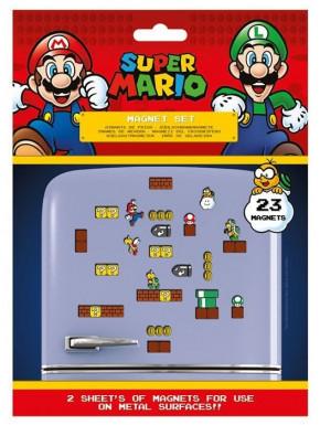 Set de 23 imanes Super Mario