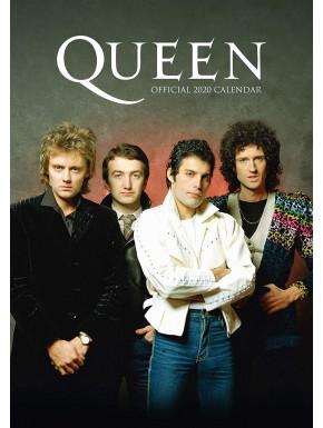 Calendario pared 2020 Queen