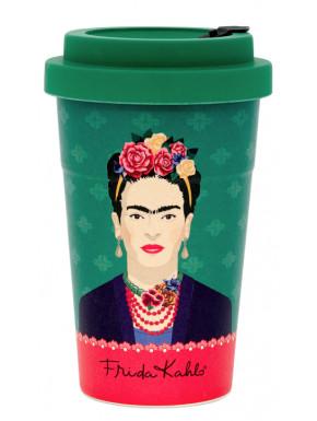 Taza de viaje Frida Kahlo