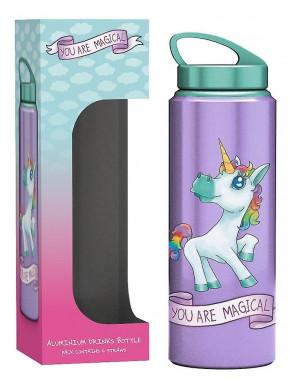 Botella Unicornio Mágico Arcoiris