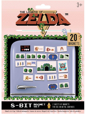 Set de 20 imanes Retro Zelda
