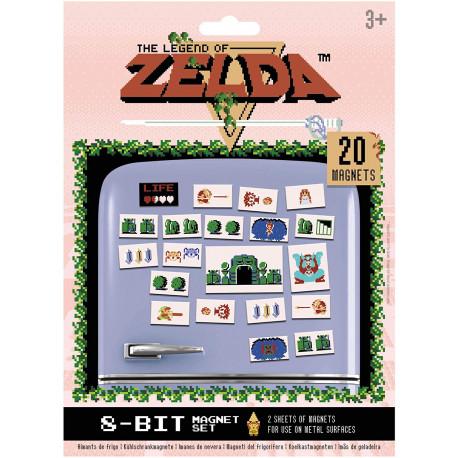 Set de 20 imanes Retro Zelda
