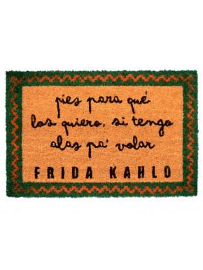 Felpudo Frida Kahlo Pies para qué los quiero