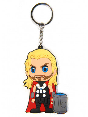 Llavero Thor caucho Marvel