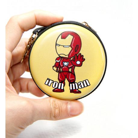 Monedero mini Iron man Marvel
