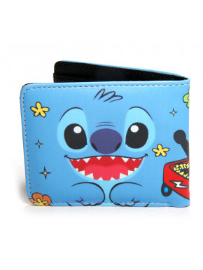 Cartera Stitch face Disney