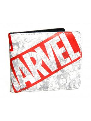 Cartera Marvel comics logo