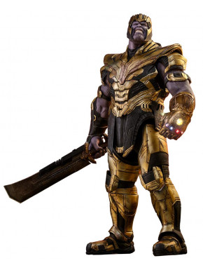 Figura Thanos Avengers Endgame Hot Toys 42 cm Masterpiece Series