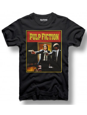 Camiseta Dancing Pulp Fiction Guns