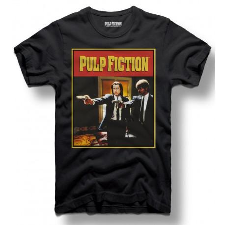 Camiseta Dancing Pulp Fiction Guns