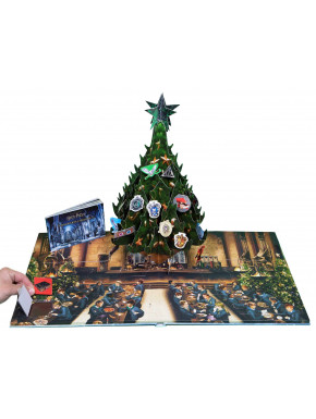Libro Harry Potter Pop-up Navidad en Hogwarts
