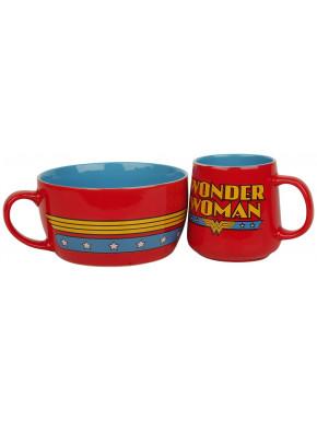 Pack para Desayuno Wonder Woman DC Comics