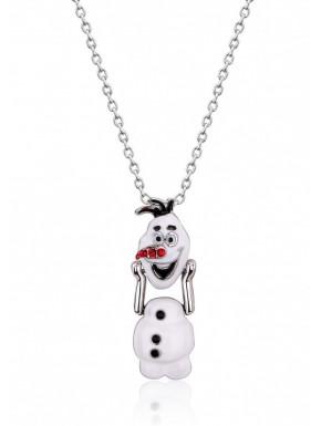 fotoColgante Plata & Swarovski Olaf Frozen 2 Disney