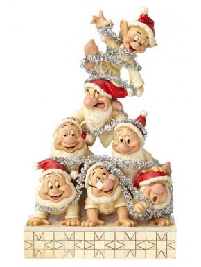 Figura 7 Enanitos Pirámide Navidad Disney