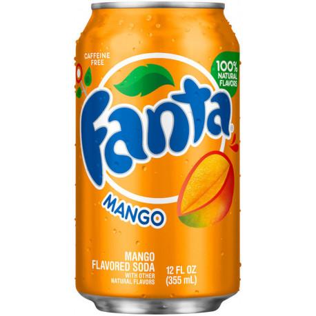 Fanta Sabor Mango Refresco 355 ml