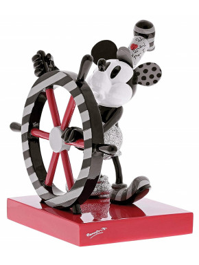Figura Mickey Mouse El Botero Willie Disney Britto 18 cm