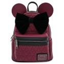 Bolso mochila Loungefly Minnie Granate