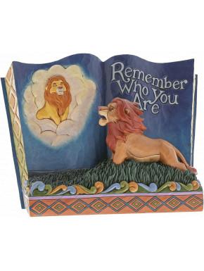 Figura El Rey León libro Disney Jim Shore