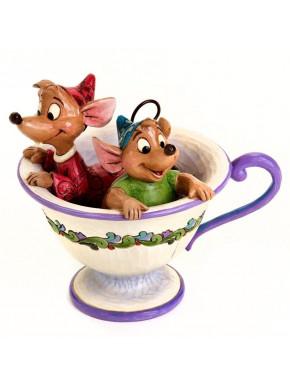 Figura Jaq & Gus Disney La Cenicienta Jim Shore