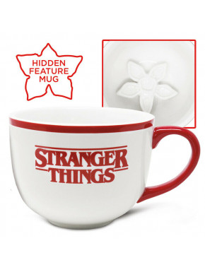 Taza Grande 3D Stranger Things Demogorgon